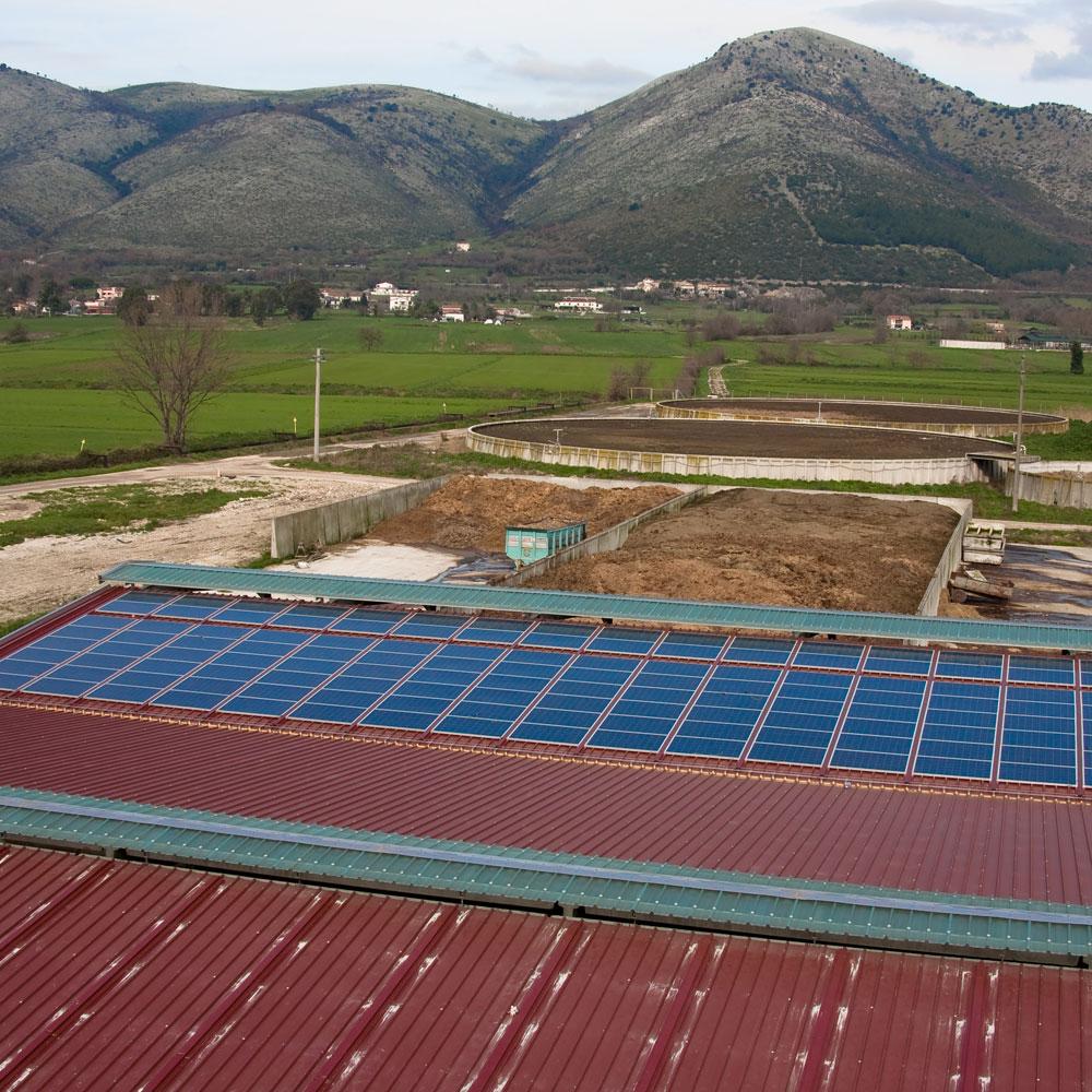 Copertura capannone fotovoltaico napoli sifracoperture