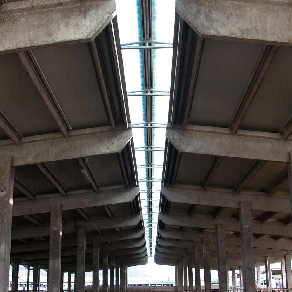Interno Copertura capannone fotovoltaico napoli sifracoperture