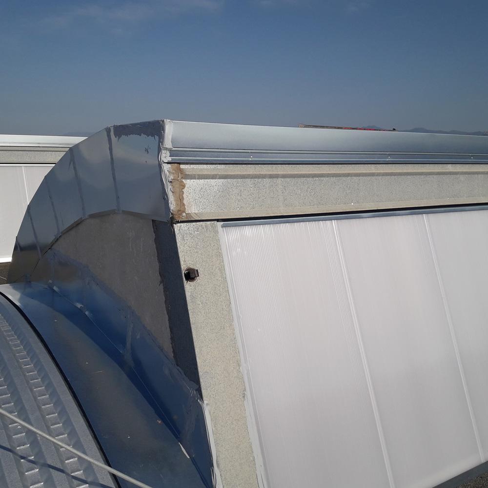Shed e scossaline copertura capannone napoli md cedi